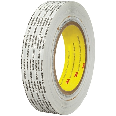 3M™ 466XL Adhesive Transfer Tape, Hand Rolls, 1 x 1000 yds., Clear, 1/Case (T9654661PK)