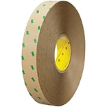 3M™ 9505 Adhesive Transfer Tape Hand Rolls, 1 x 60 yds., Clear, 36/Case (24626-5)