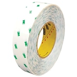 3M™ Scotch  966 Adhesive Transfer Tape; Hand Rolls, 1 x 60 yds., Clear, 6/Case (T9659666PK)