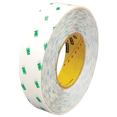 3M™ Scotch  966 Adhesive Transfer Tape, Hand Rolls, 1 x 60 yds., Clear, 36/Case (11709-1)