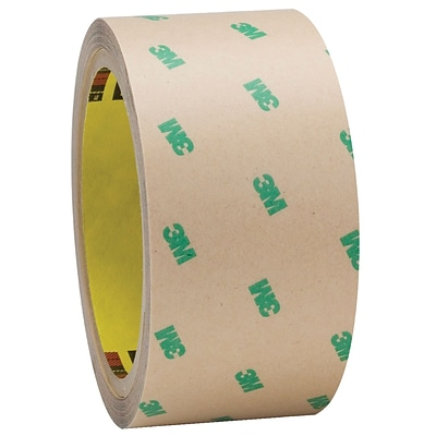 3M™ F9465PC Adhesive Transfer Tape, Hand Rolls, 2 x 60 yds., Clear, 2/Case (T966F94652PK)