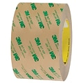 3M™ 467MP Adhesive Transfer Tape, Hand Rolls, 3 x 60 yds., Clear, 6/Case (T967467MP6PK)