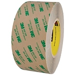 3M™ 468MP Adhesive Transfer Tape, Hand Rolls, 3 x 60 yds., Clear, 1/Case (T9674681PK)