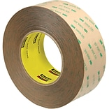 3M™ Scotch  9472LE Adhesive Transfer Tape, Hand Rolls, 2 x 60 yds., Clear, 2/Case (T96794722PK)