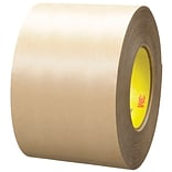 3M™ 9485PC Adhesive Transfer Tape; Hand Rolls, 4 x 60 yds., Clear, 8/Case (40785-7)