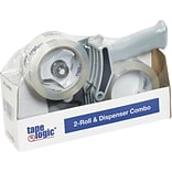 Tape Logic 2 x 55 Clear 2-Roll Dispenser Combo (TL2RDC)