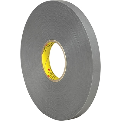 3M™ 4957F VHB™ Tape, 3/4 x 5 yds., Gray, 1/Case (VHB495734R)