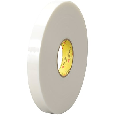 3M™ 4951 VHB™ Tape, 1 x 5 yds., White, 1/Case (VHB495101R)