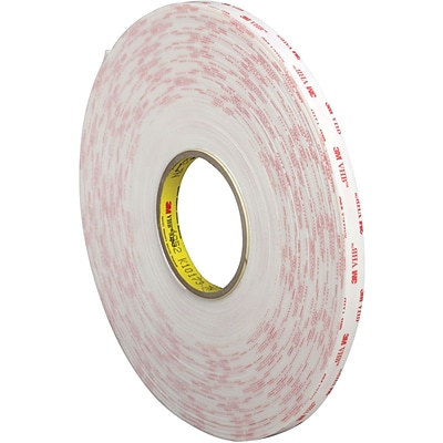 3M™ 4945 VHB™ Tape, 1/2 x 5 yds., White, 1/Case (VHB494512R)