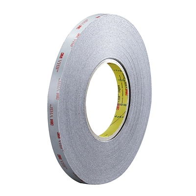 3M™ 5915 VHB™ Tape, 1/2 x 5 yds., Black, 1/Case (VHB591512R)