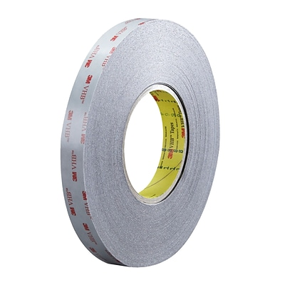3M™ 5915 VHB™ Tape, 3/4 x 5 yds., Black, 1/Case (VHB591534R)