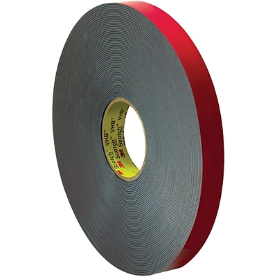3M™ 4646 VHB™ Tape, 1 x 5 yds., Gray, 1/Case (VHB464601R)