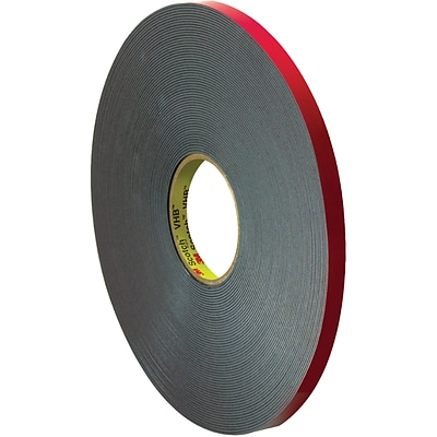 3M™ 5958FR VHB™ Tape, 1/2 x 5 yds., Black, 1/Case (VHB595812R)