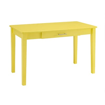 Walker Edison 48 Wood Computer Desk, Yellow (SPW48MWDYW)