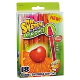 Mr. Sketch Scented Crayons, Gel, Assorted, 18/pack