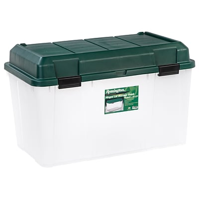 Remington® 138 Quart Storage Trunk, Green, 3 Pack (296025)