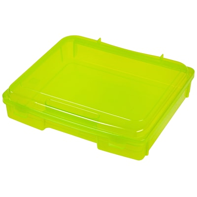 IRIS® Portable Project Case, Green , 6 Pack (150532)
