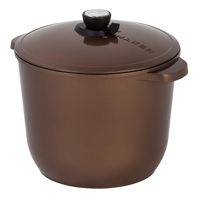 MAKER Homeware 12 Quart SmartSteam™ Cookware; Bronze