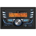 Dual Double-din In-dash AM/FM/MP3 CD Receiver With Bluetooth