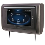 Power LCD Universal Headrest With IR & FM Transmitters & 3 Interchangeable Skins (monitor Only)