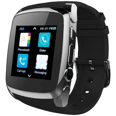 Supersonic Sc 64sw Bluetooth(r) Smart Watch With Call Feature