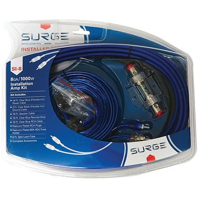 Surge Si-8 Installer Series Amp Installation Kit