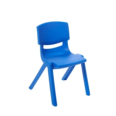 ECR4Kids 16 Resin School Stack Chair - Blue, (ELR-15416-BL)
