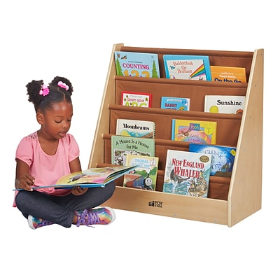 ECR4Kids Birch Single-Sided Fabric Book Display (ELR-17108)
