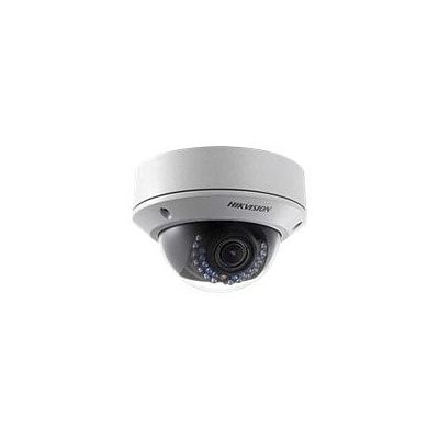 Hikvision® DS-2CD2712F-I Wired Outdoor Dome Network Camera; 12 mm Focal Length