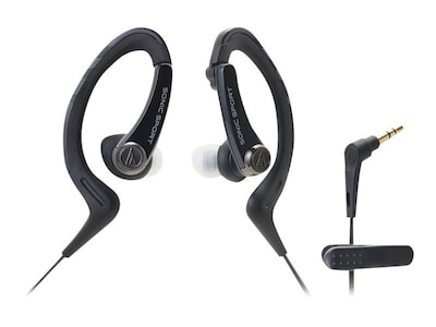 Audio Technica(r) ATH SPORT1 SonicSport(r) In ear Headphone; Black