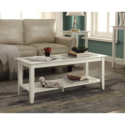 Convenience Concepts Inc. Carmel Coffee Table White Finish (938082W)