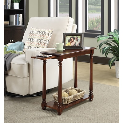 Convenience Concepts Inc. French Country Regent End Table Mahogany Finish (7103059MG)