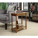 Convenience Concepts Inc. American Heritage Carrington End Table Walnut Finish (7103045)