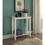 Convenience Concepts Inc. Carmel Hall Table-White Hall Table White Finish (938081W)