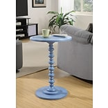 Convenience Concepts Inc. Palm Beach Spindle Table Spindle Blue Finish (131355BE)