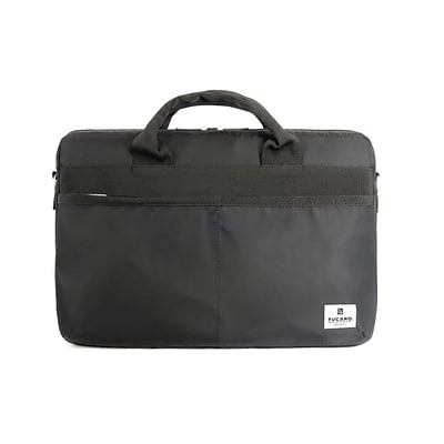 Tucano Shine Slim Black Business Bag, up to 15.6 Notebooks/15 MacBook Pro (BSHINE15S)