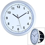 Stalwart Wall Clock with Hidden Safe - 10 Inches (82-5894)