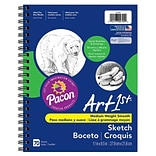 Pacon® Art1st® 8 1/2 x 11 Sketch Diary, 70 Sheets/Pk (PAC4794)