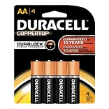Duracell® Alkaline AA Batteries; 4-Pack