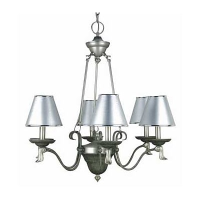 Aurora Lighting 6-Light Incandescent Chandelier - Pewter (STL-LTR412854)