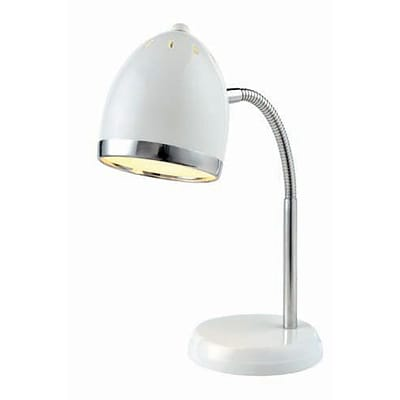 Aurora Lighting 1-Light CFL Desk Lamp - White (STL-LTR458159)