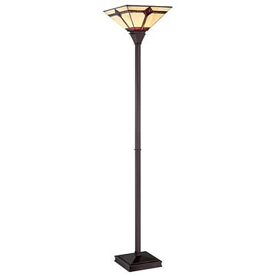 Aurora Lighting 1-Light CFL Floor Lamp - Dark Bronze (STL-LTR453628)