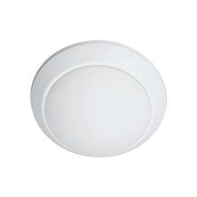 Aurora Lighting 1-Light Fluorescent Flush Mount - White (STL-LTR418177)