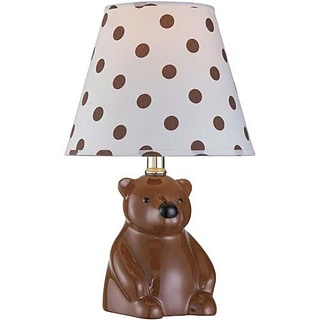 Aurora Lighting CFL Novelty Table Lamp - Brown (STL-LTR800699)