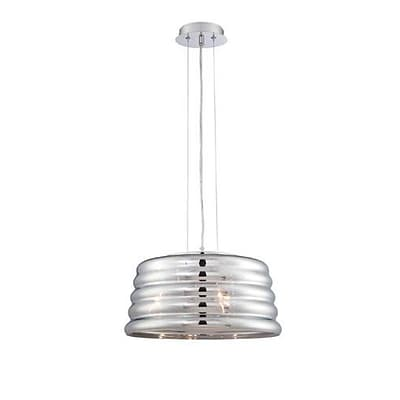 Aurora Lighting 3-Light Incandescent Pendant - Polished Chrome (STL-LTR901211)