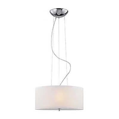 Aurora Lighting 3-Light Incandescent Pendant - Polished Chrome (STL-LTR430179)