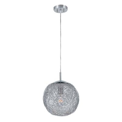 Aurora Lighting 1-Light CFL Pendant - Polished Chrome (STL-LTR459224)