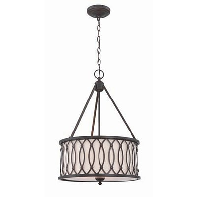 Aurora Lighting 3-Light Incandescent Pendant - Dark Bronze (STL-LTR463283)