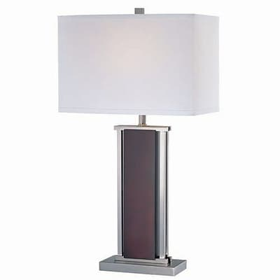 Aurora Lighting Incandescent Table Lamp - Polished Steel (STL-LTR439363)