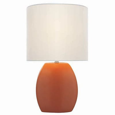 Aurora Lighting CFL Table Lamp - Orange (STL-LTR445036)